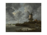 The Windmill at Wijk Duurstede  C1668-70