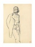 Figure of a Standing Man  C 1872-1875