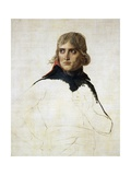 Unfinished Portrait of Napoleon Bonaparte (Ajaccio  1769-Saint Helena  1821)  1798
