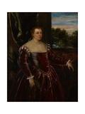 Portrait of Dogaressa Morosina Morosini  1570-80