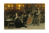 A Parisian Cafe  1875