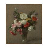 Flower Bouquet; Bouquet De Fleurs  1900