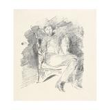 Firelight -Joseph Pennell  No 1  1896