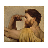 Study for Phidias in the Apotheosis of Homer  1827
