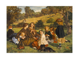 Summertime  Gloucestershire  Exh1860