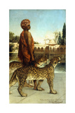 The Palace Guard with Two Leopards