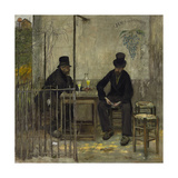 The Absinthe Drinkers (Les Declasses)  1881