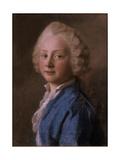 Portrait of Prince Friedrich Von Sachsen-Gotha-Altenburg  1746 (Pastel)