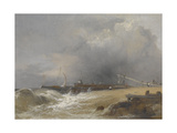 Littlehampton Pier on the Sussex Coast  C1842