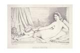 L'Odalisque Couchee  1825
