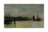 Greenwich  Half Tide  1884