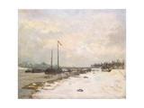 The Quay of the Seine in the Environs of Paris; Quais De La Seine Aux Environs De Paris  1873