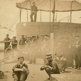 Crew on the Deck of the USS Monitor  1862