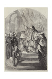 The Pope Addressing General Goyon  the French Commander-In-Chief at Rome  on New-Year's Day