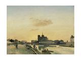 View of Notre Dame  Paris  1864