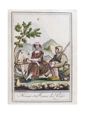 A Man and Woman from the Vosges  from the 'Encyclopedie Des Voyages'  1796