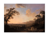 Idyllic Landscape at Dusk  1782