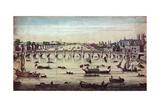 Westminster Bridge  Looking Westward  1747