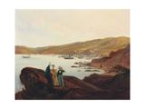 El Membrillo Beach  Near Valparaiso  1844