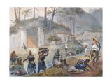 Black Washerwomen by a River  from 'Voyage Pittoresque Et Historique Au Bresil'  1839