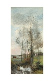 Copse of Alder and Birch  1865-70