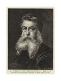 A Portrait of Meissonier by Himself