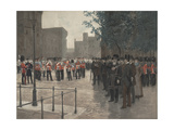 The Grenadier Guards  Tower of London  1880