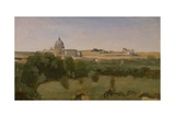 View of St Peter'S  Rome  1826