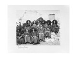 Group of Nuns at the Nunnery of Tatsang  1903-04