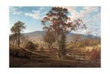 View of Mills Plains  Van Diemen's Land  1833