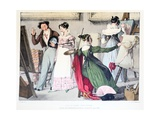 Les Dames Artistes  Published by Rodwell and Martin  1820