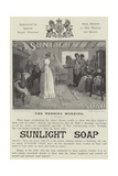 Advertisement  Sunlight Soap