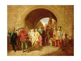 Queen Margaret's Defiance of the Scottish Parliament  1859