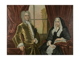 Captain and Mrs Johannes Schuyler  C1725-35