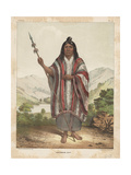 Araucanian Chief  1855