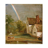 Willy Lott's House with a Rainbow  Dated October 1St  1812
