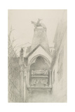 Study of the Tomb of Can Grande Della Scala at Verona  May - August 1869