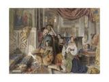 Roman Pilgrims  1854