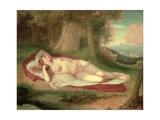 Ariadne Asleep on the Island of Naxos  1831