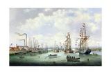 The Opening of Tyne Dock  1859