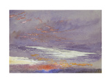 Study of Dawn: Purple Clouds  March 1868