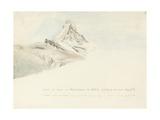 The Matterhorn  Switzerland  from the Northeast  1849