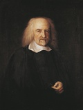 Portrait of Thomas Hobbes (Westport  1588-Hardwick Hall  1679)  English Philosopher  1669-1670