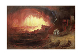The Destruction of Sodom and Gomorrah  1852