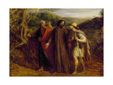 Christ's Appearance to the Two Disciples Journeying to Emmaus  1835