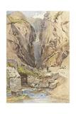 The Castalian Spring  Delphi  C1895