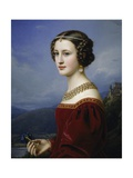 Portrait of Cornelia Vetterlein  1828
