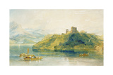 Chateau De Rinkenberg  on the Lac De Brienz  Switzerland  1809