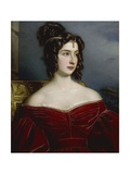 Portrait of Marchesa Marianna Florenzi  1831