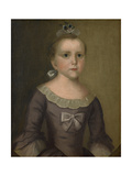 Portrait of Abigail Gowen  1763